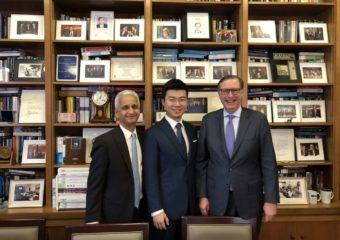 祝贺商会副主席高雪清成立哥伦比亚商学院奖学金